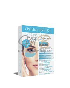 CHRISTIAN BRETON Dark Circle & Pufiness 3x Hydrogel Eye Contour Masks