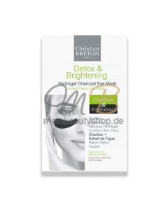 CHRISTIAN BRETON Detox & Brightening 3x Hydrogel Eye Contour Masks