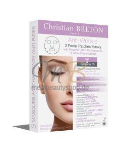 CHRISTIAN BRETON Anti-Wrinkle Facial Patch Mask +, 3 x 20 ml