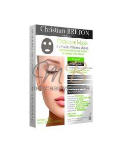 CHRISTIAN BRETON schwarze Gesichts-Maske Charcoal Mask - Reinigend und Entgiftend