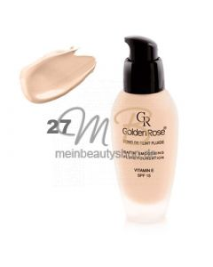 GOLDEN ROSE Satin Smoothing Fluid Foundation #27