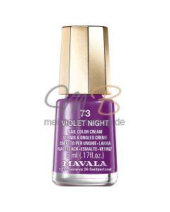 MAVALA  MINI COLOR Violet Night #73